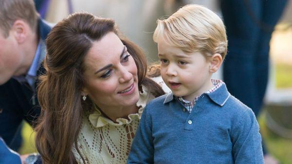 Kate Middleton y el príncipe George