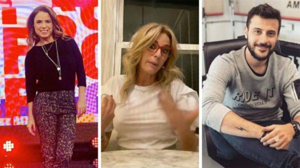 Marina Calabró, Yanina Latorre y Diego Leuco