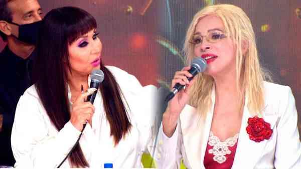 Moria Casán y Nacha Guevara