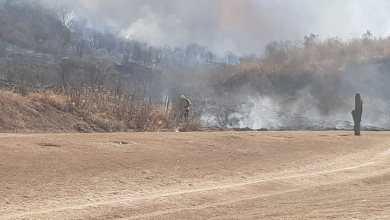 Photo of Abismales incendios en la Avenida que une San Lorenzo con Salta