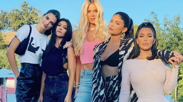Kim Krdashian y sus hermanas