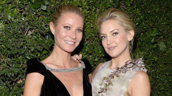 Gwyneth Paltrow y Kate Hudson