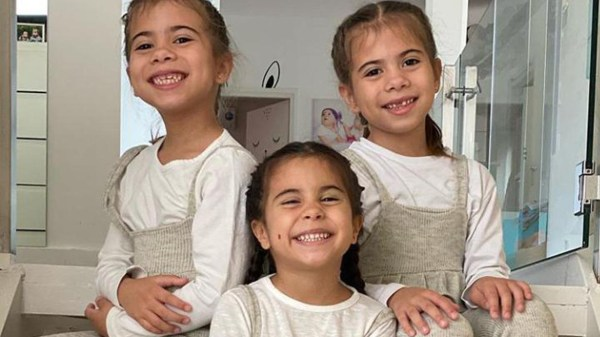 Las hijas de Cinthia Fernández