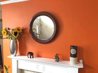 art deco bakelite mirror