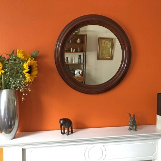 art deco bakelite mirror