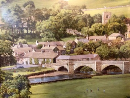 Summer in the Dales, Burnsall by K Melling