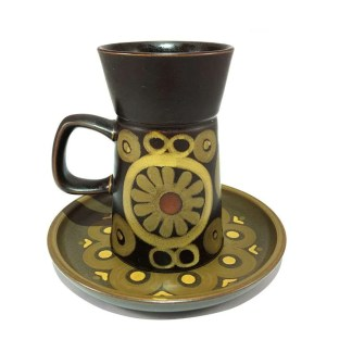 Denby Arabesque mug and plate