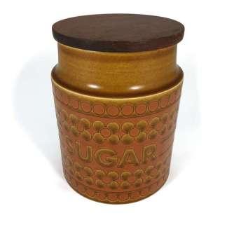 Hornsea Saffron sugar jar