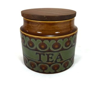 Hornsea Bronte tea jar