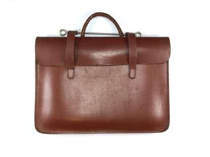 vintage leather attaché case