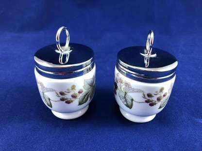 Royal Worcester porcelain egg coddlers