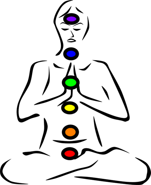 chakras drawing