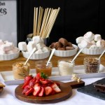 Build A S Mores Bar With Homemade Marshmallows Salt Honey Catering