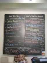 Daily/weekly flavors at Soop
