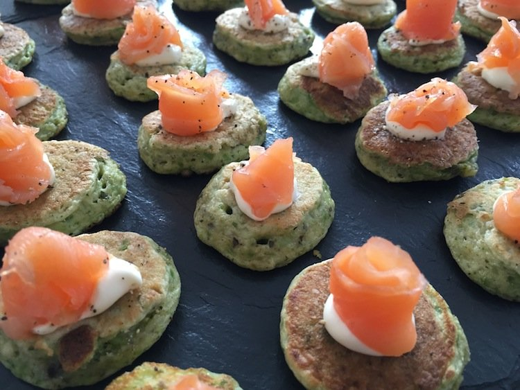 Popular canap s for birthday parties and weddings for Canape trays uk