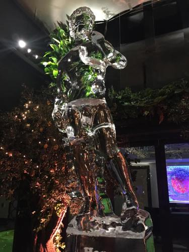 Ice sculpture London private house party