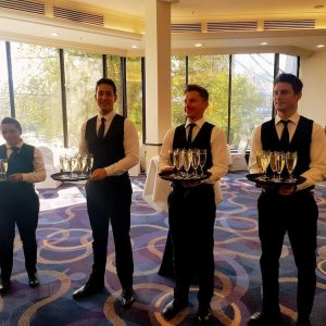 Waiters and Bartenders for a Corporate Party in London