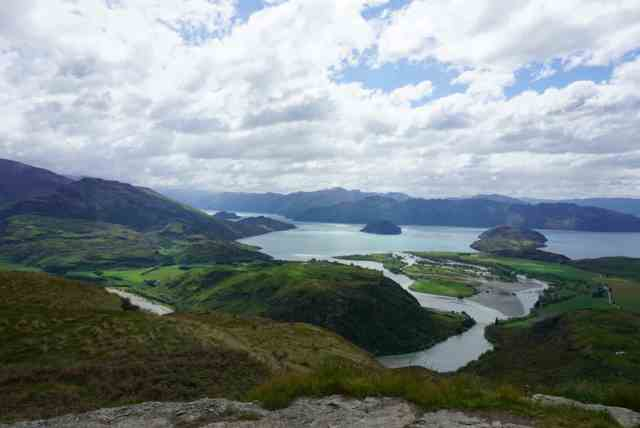 Hiking trails in Wanaka