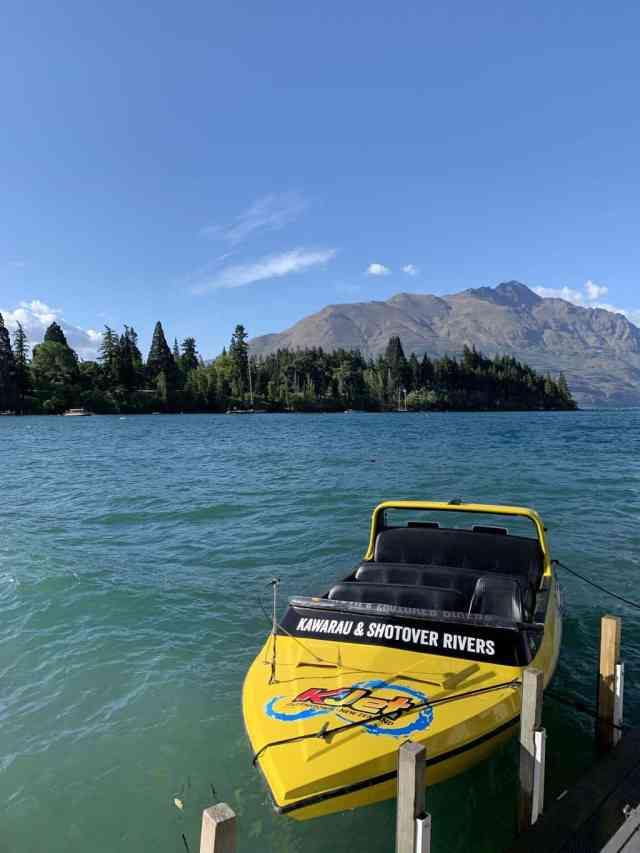jet boat ride in Queenstown is one of the many things to do