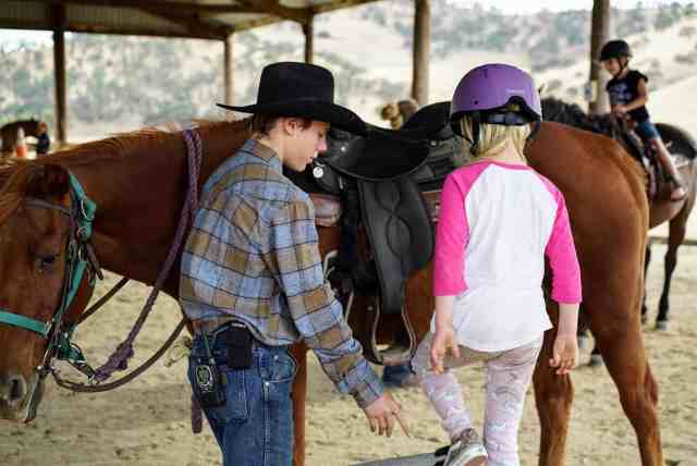 horseback riding at bar sz ranch near san jose ca