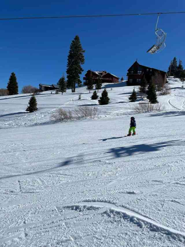 Tahoe Donner near Truckee is a great spot for families
