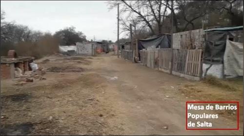 SALTA: Familias en barrios populares sin ayuda social
