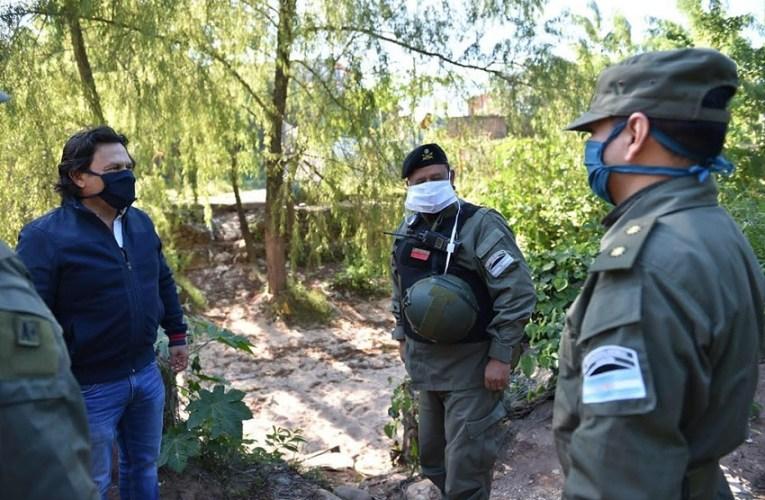 Sáenz: A partir de ahora tendremos precencia del Ejército en la frontera con Bolivia