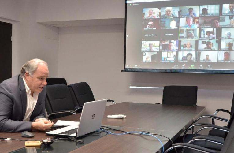 El ministro de Educación sostuvo un encuentro virtual entre el Sector Científico Tecnológico y Socio Productivo vinculado con la Educación Técnico Profesional