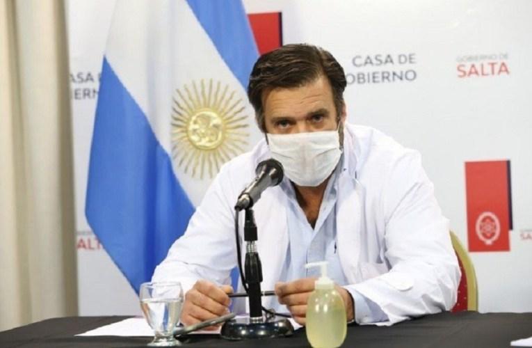 """CON CRÍTICAS A LA MILITANCIA PERONISTA Y AL PRESIDENTE FERNÁNDEZ RENUNCIA EL RESPONSABLE DEL COE SALTA """"UNA AFRENTA A LOS SALTEÑOS"""""""