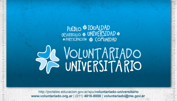 Convocatoria para proyectos voluntariado universitario 2015