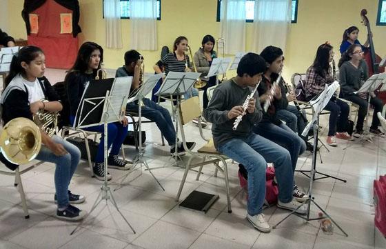 La orquesta infanto-juvenil de General Güemes participará del festejo patrio en Buenos Aires