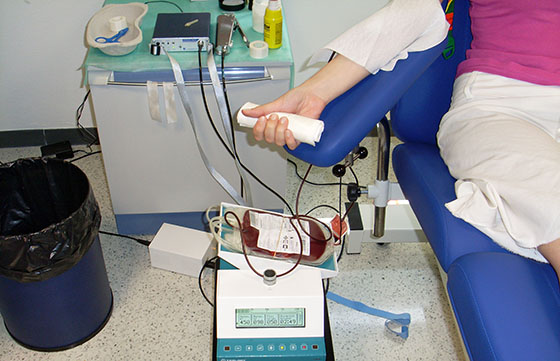 Campaña para colectar sangre y registrar donantes de médula ósea