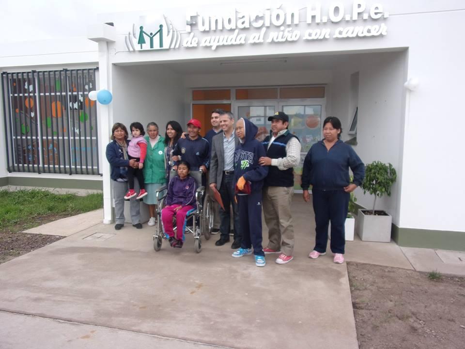 El Ministro de la Primera Infancia Visitó la Fundación HOPe