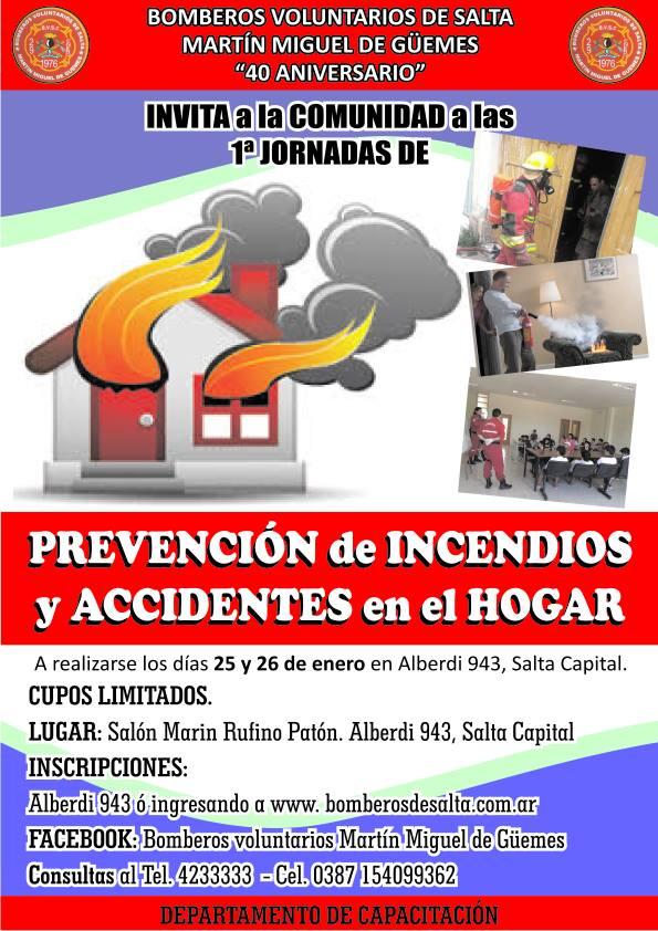 Primeras Jornadas de Prevención de Incendios y Accidentes en el Hogar