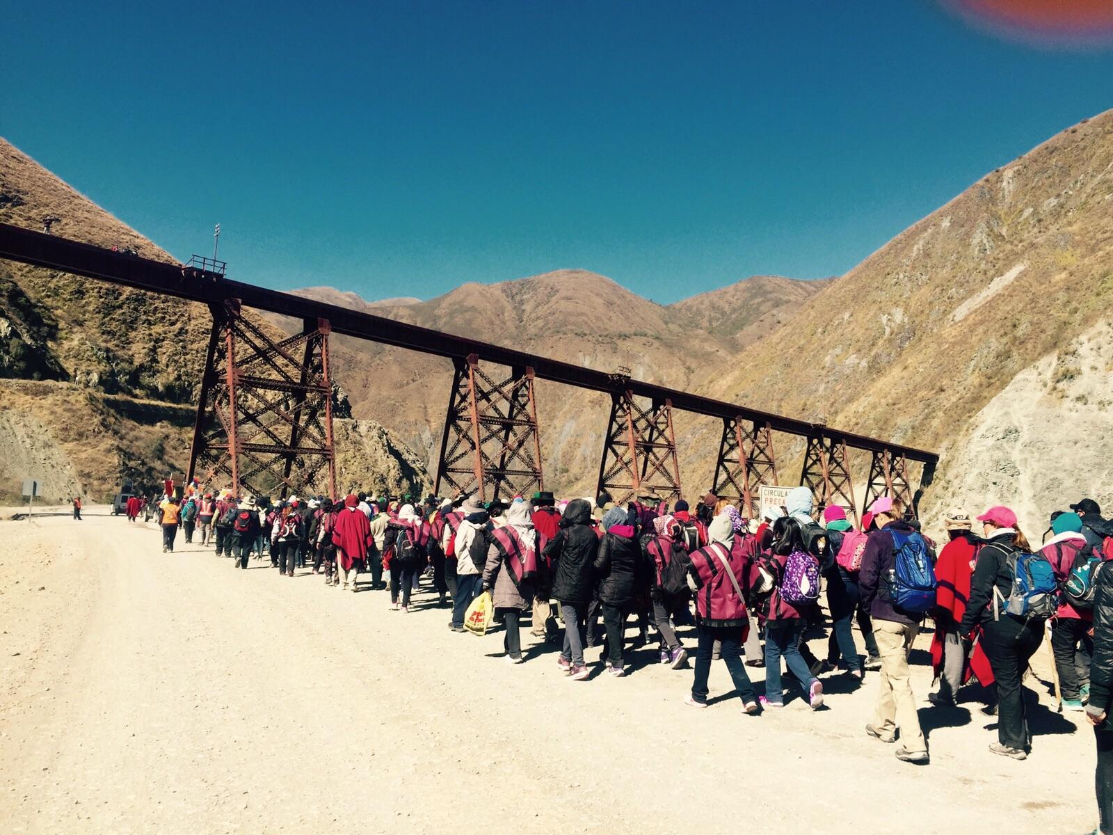 #MilagroenSalta Peregrinos de los Cerros de Rosario de Lerma inician su caminar