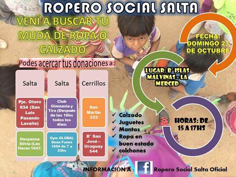 El Voluntariado del Ropero Social visitará la localidad de La Merced