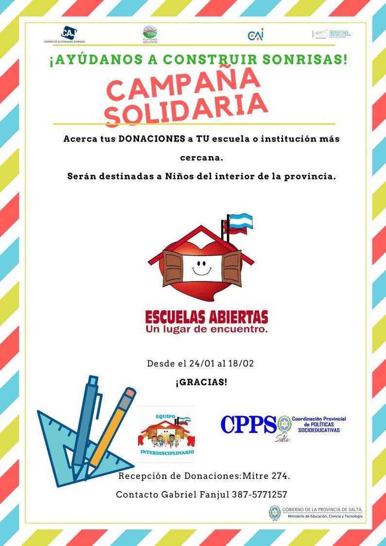 """Niños y Jóvenes ponen en marcha la campaña """"Ayudanos a construir sonrisas"""""""