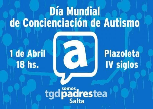 Asociación TEA concientizará en la ciudad sobre el autismo