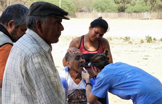 Importante operativo socio sanitario en el  departamento de Rivadavia