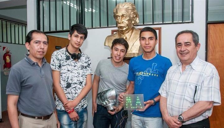 Invento de alumnos técnicos, en lafinal de un certamen internacional