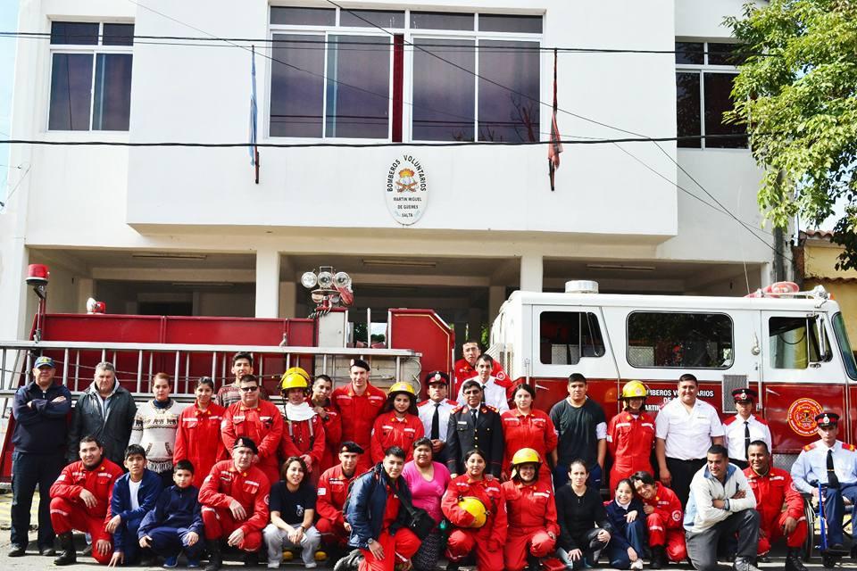 Celebrarán los 42º aniversario de la creación de Bomberos Voluntarios Martín Miguel de Güemes