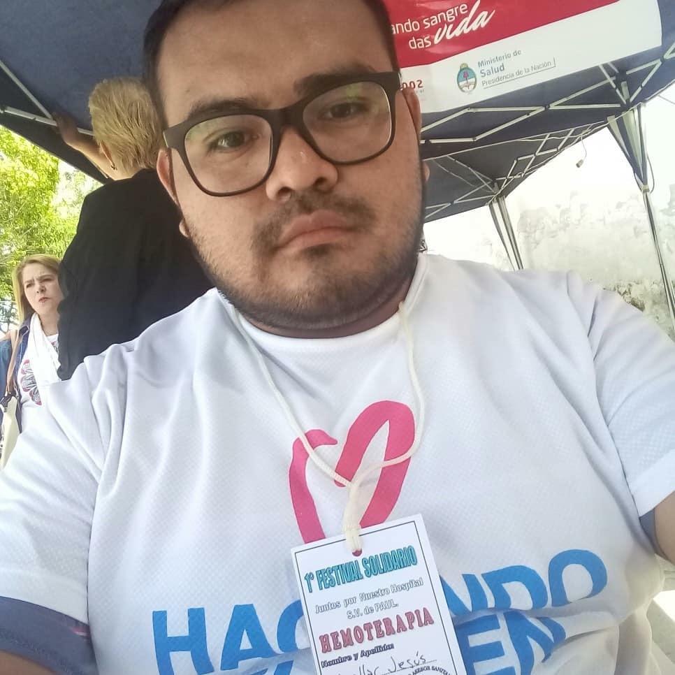 #OrgulloSalteño: Desde Urundel, Jesús Cuellar promueve la donación voluntaria de sangre