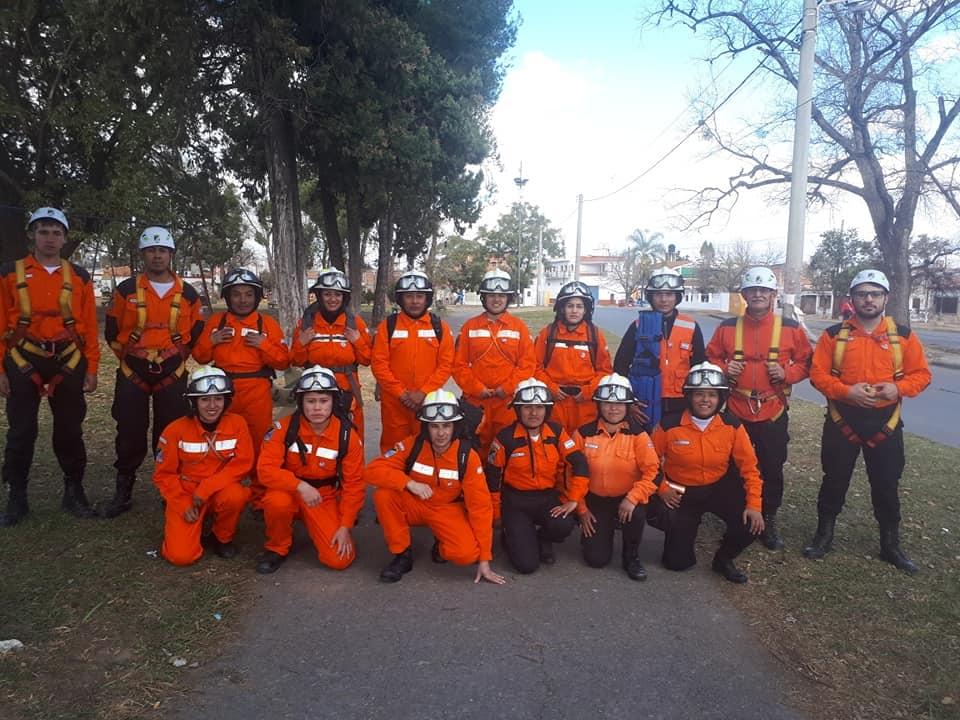 El Cuerpo de rescate especial voluntario (CREV) cumplió 32 años de servicio en Salta