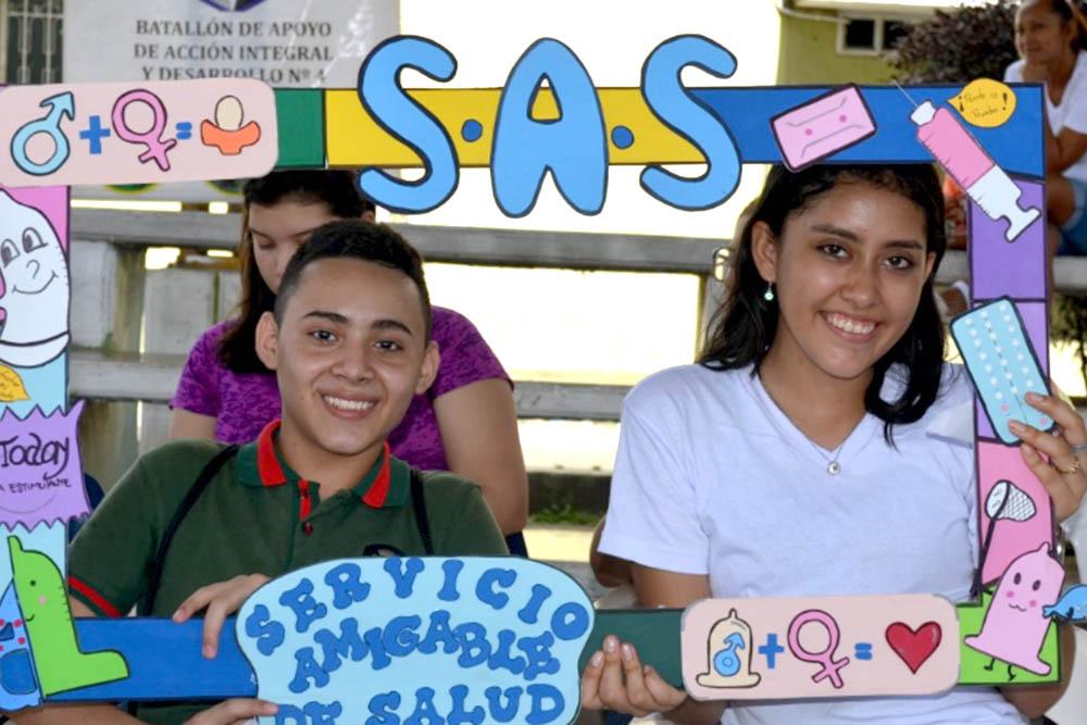 Adolescentes de Atocha promueven actividades preventivas
