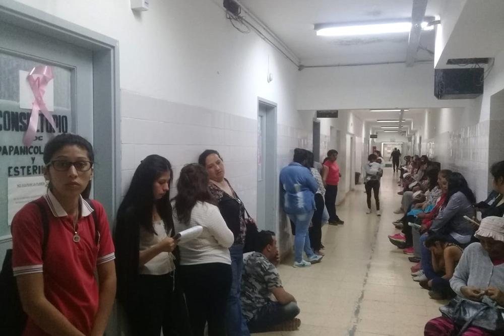 El hospital San Bernardo realiza la campaña de detección de cáncer de mama