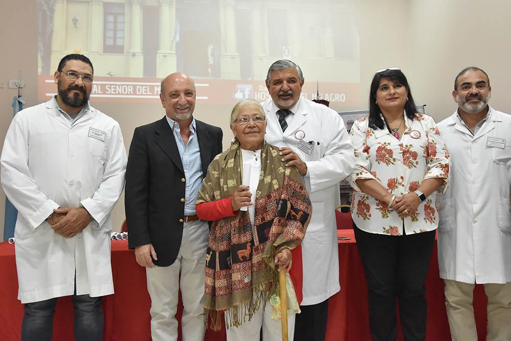 El hospital Señor del Milagro festejó su 124º aniversario