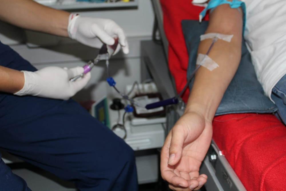 Salud Pública insta a la población a donar sangre de manera habitual