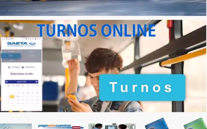 Desde el 1 de Octubre la atención al público en Saeta será con turnos online