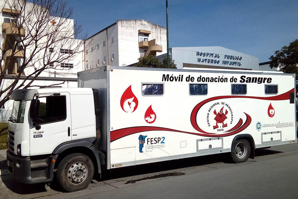 Esta semana habrá colecta de sangre en dos hospitales de la capital