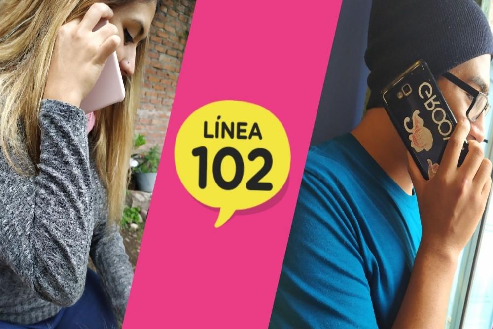 Chicos y chicas de Salta pueden llamar al 102